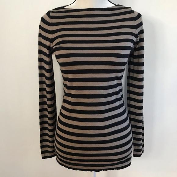 Eileen Fisher Sweaters - •Eileen Fisher• Striped Sweater 100% Merino Wool